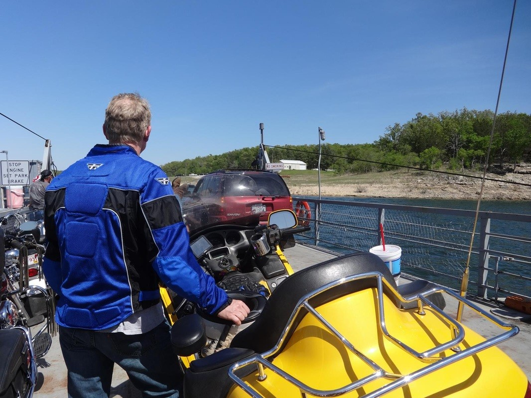 Goldwing Ferry Ride