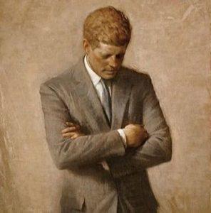 JFK back pain