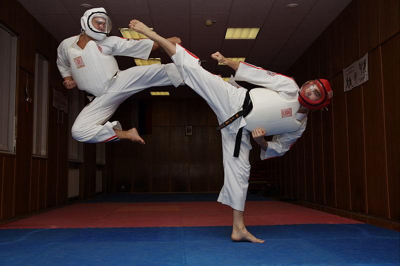 Karate Shoulder Pain