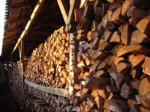 wood-burning outdoor boiler