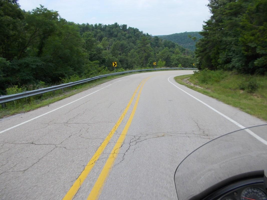 Push Mountain Road Arkansas