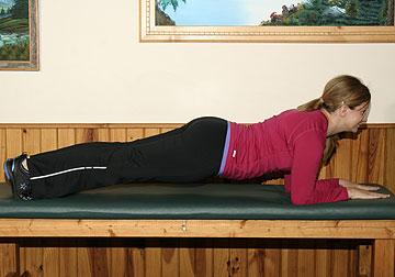 Plank Core Strength