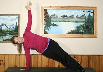 Side Plank Core Strength