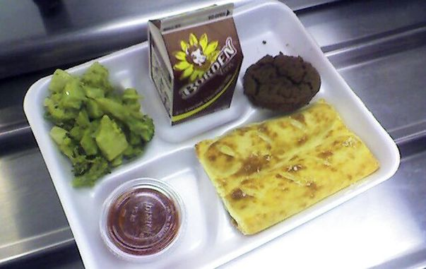 Unhealthy School Lunches