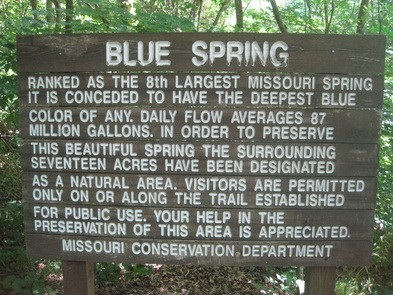 Blue Springs Current River