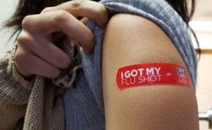 antivaxxer flu propaganda